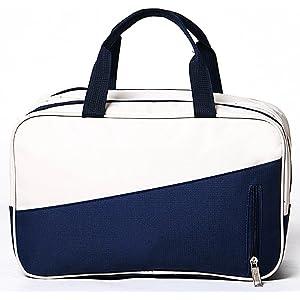 Enipate プールバッグ ジムバッグ スポーツバッグ レディース メンズ 大容量 軽量 乾湿2室分離 防水 水着バッグ 水泳 化粧品入れ