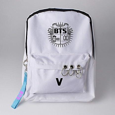 Amazon.com: Youyouchard BTS Bangtan - Mochila, diseño de ...