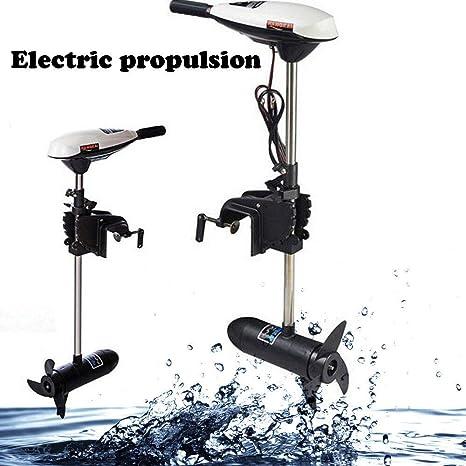 YUNRUX 65LBS - Motor fueraborda eléctrico para Barcos ...