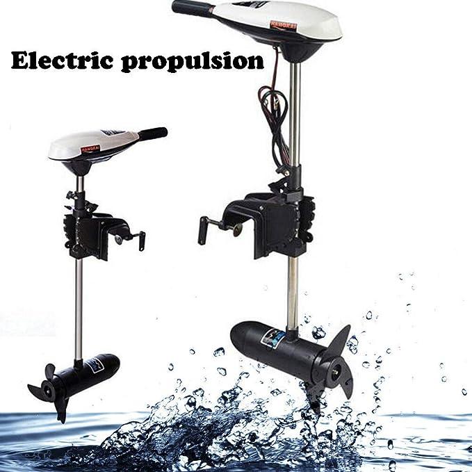 YUNRUX 65LBS - Motor fueraborda eléctrico para Barcos hinchables ...