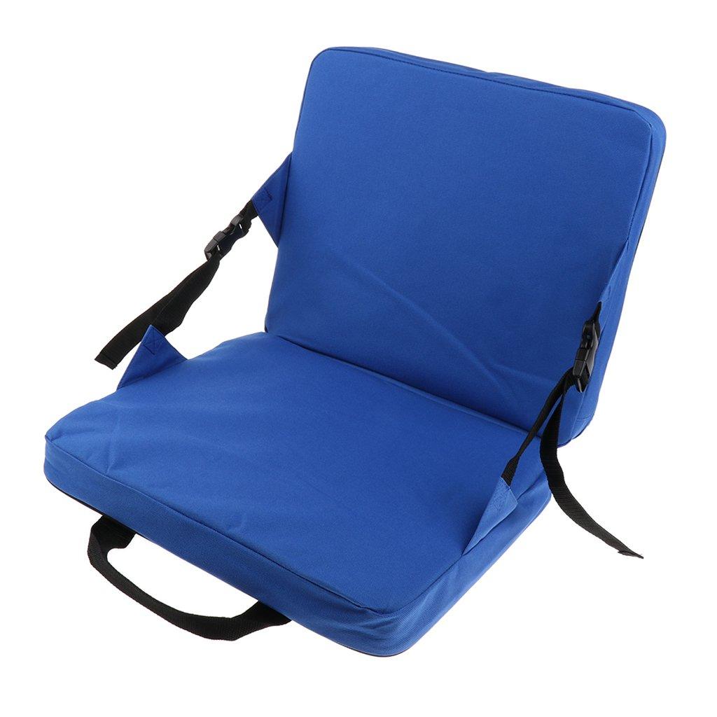 IPOTCH Coussin De Siège De Camping en Plein Air Pliable Pliant Portable Chaise Imperméable Pique-Nique Siège Rembourrage