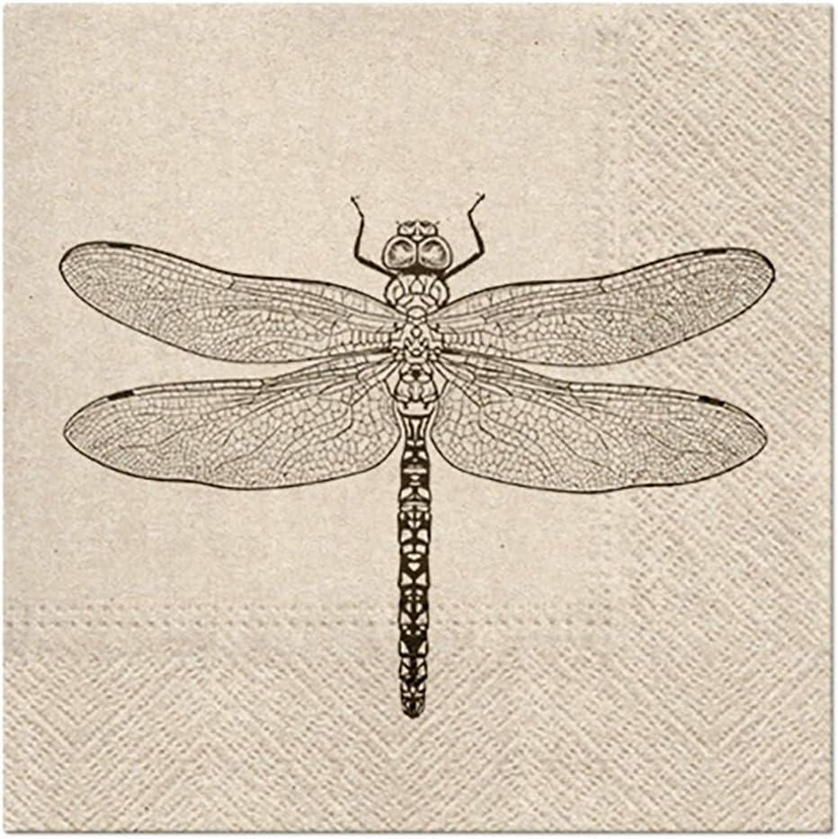 3-Ply Quality Tribal Pattern ECO Biodegradable Paper Napkins Serviettes 33cm x 33cm Pack of 20