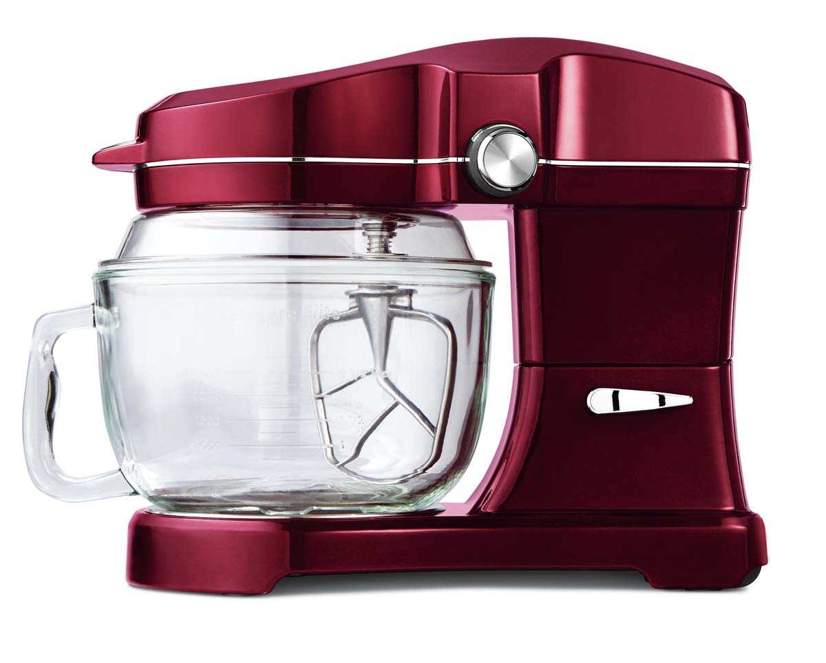 Kenmore Elite Ovation 49083 Exclusive Pour-In Top, 5-Qt. Tilt-Head Kitchen Stand Mixer, Red Burgundy by Kenmore (Image #6)