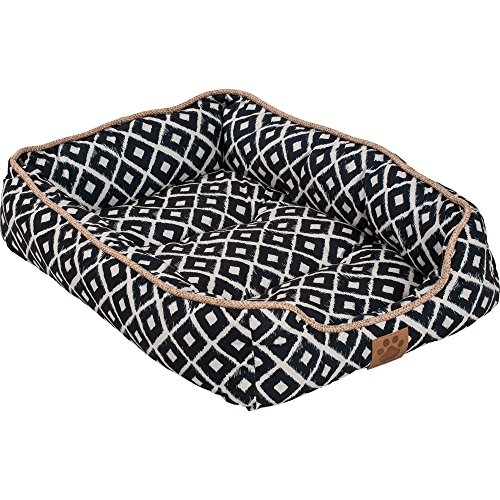 Precision Pet SNZ Ikat Drawer Bed, Navy,