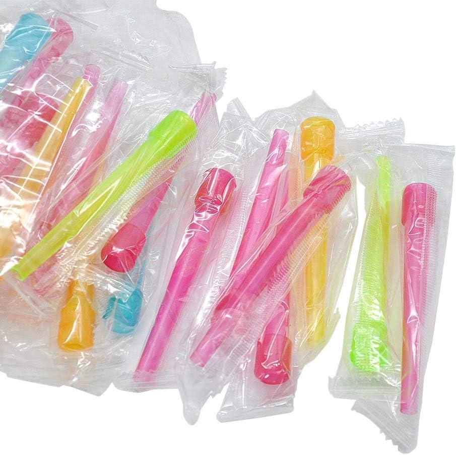 X-xyA 100pcs Cachimba de Boquilla el plastico, Accesorios higiénicos para cachimba Shisha envueltos Individualmente