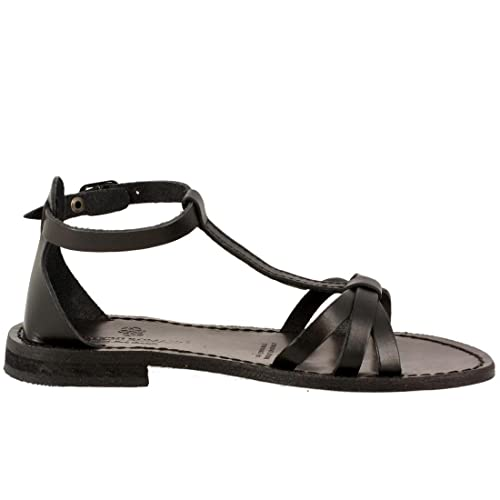 separation shoes be527 05f8a antichi romani , Sandali donna, nero (nero), 36 EU: Amazon ...
