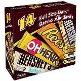 HERSHEY'S Chocolate Candy Assortment, 14 Count, 674 Gram