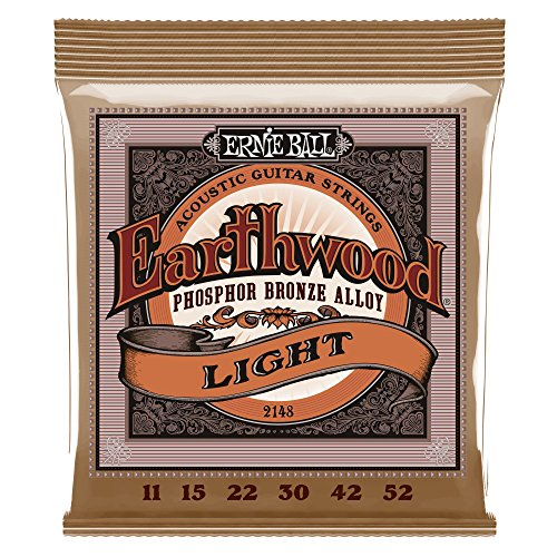 Ernie Ball Earthwood Light Phosphor Bronze Acoustic String S