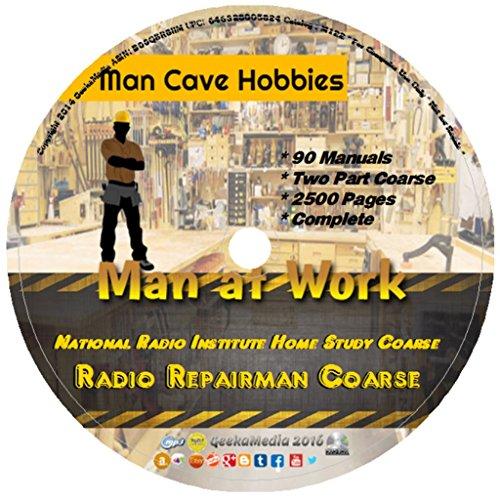 NRI Home Study Radio Repairman Coarse M122