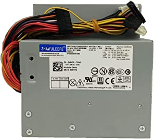 Lee_store F255E-01 N249M 255W Power Supply Replacement for Dell Optiplex 580 760 780 960 980 DT PSU AC255AD-00 L255P-01 D255P-00 V6V76 RM110