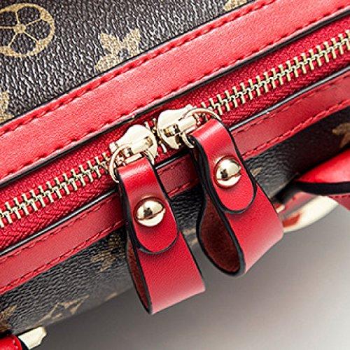 Main Bandoulière unis a1 En Aux À Mode Boston Messenger Sac A2 Yanzi Et La Cuir Bag États Europe Sacs Bag OqEw8