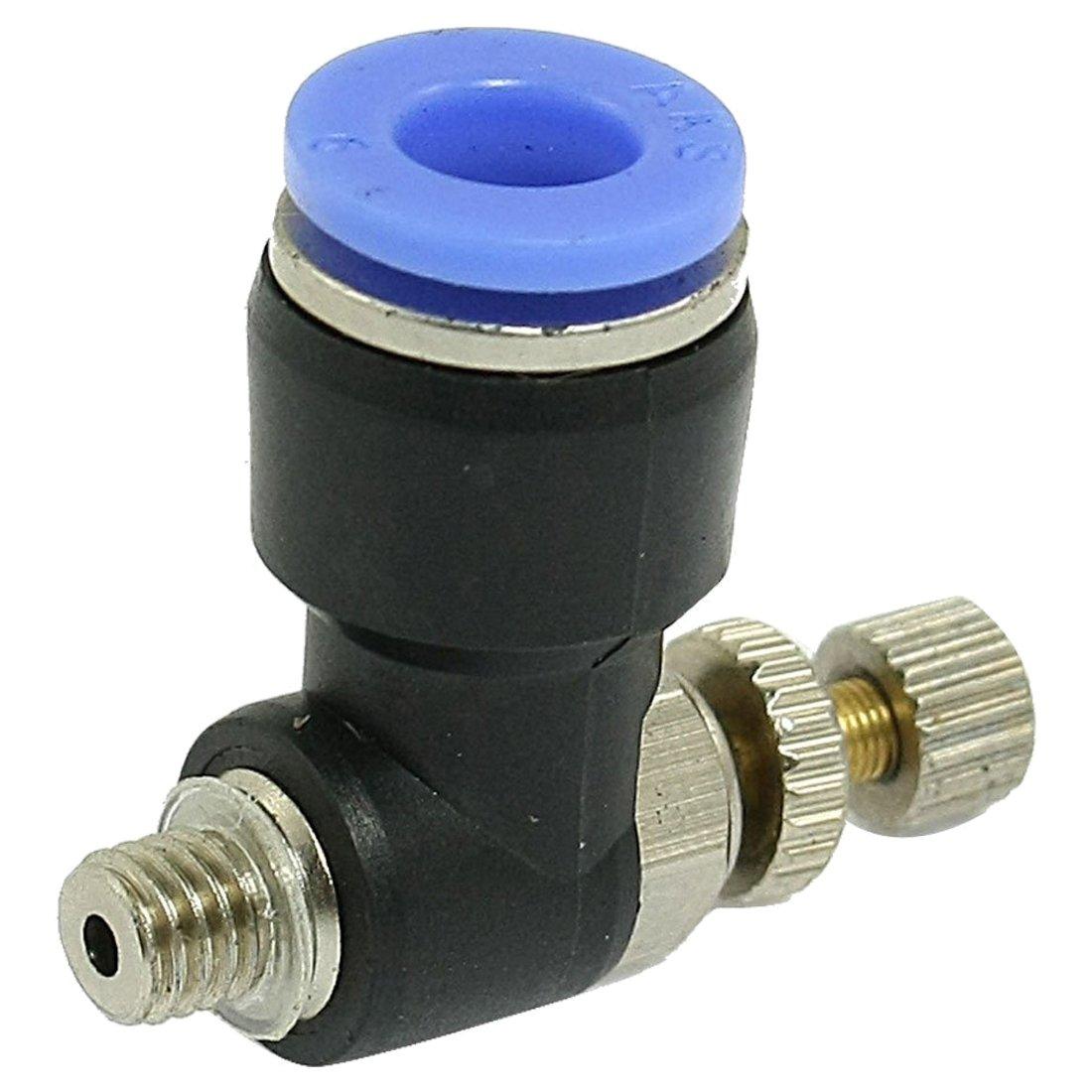 Nrpfell In 6 mm, 5 mm thread Pneumatic valve regulator quick couplings, 2 pcs