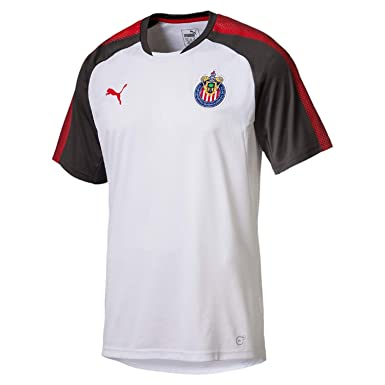 a8ae8e153f2 PUMA Men s Chivas Training Jersey at Amazon Men s Clothing store