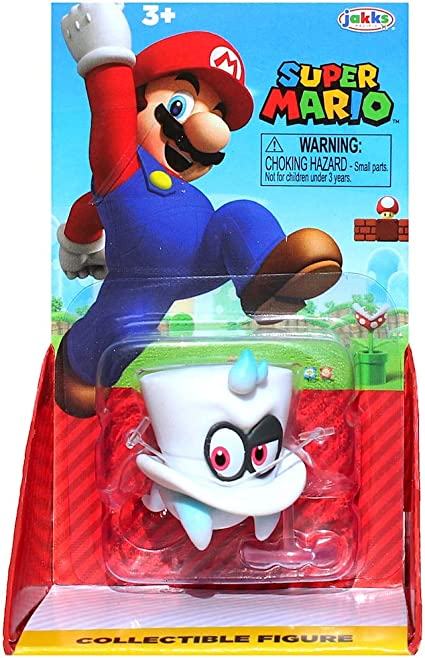 Mario with Cappy Super Mario 2.5 Action Figure Action Figures Toys ...