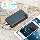 Solar Charger 25000mAh FEELLE Solar Power Bank with