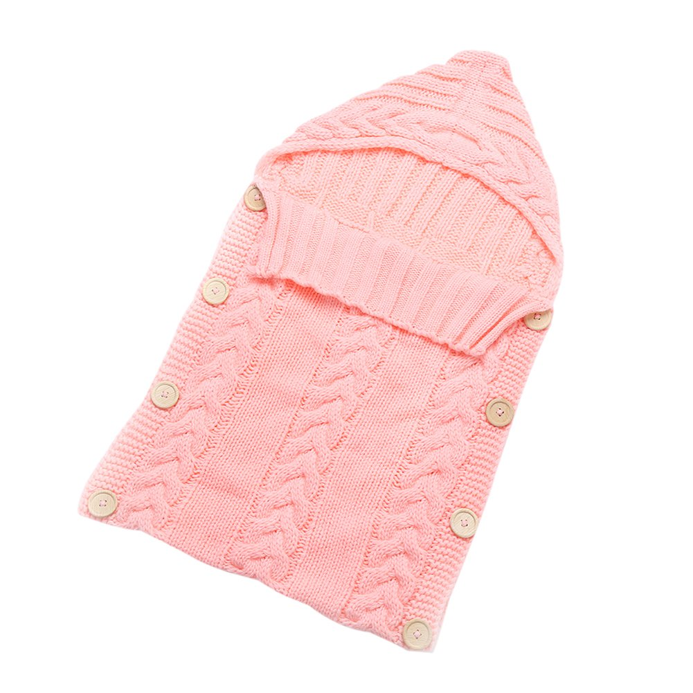 Norbi Baby Sleep Sack Cotton Baby Wrap Swaddle Blanket for 0-6or 0-12 Month Baby G-170B