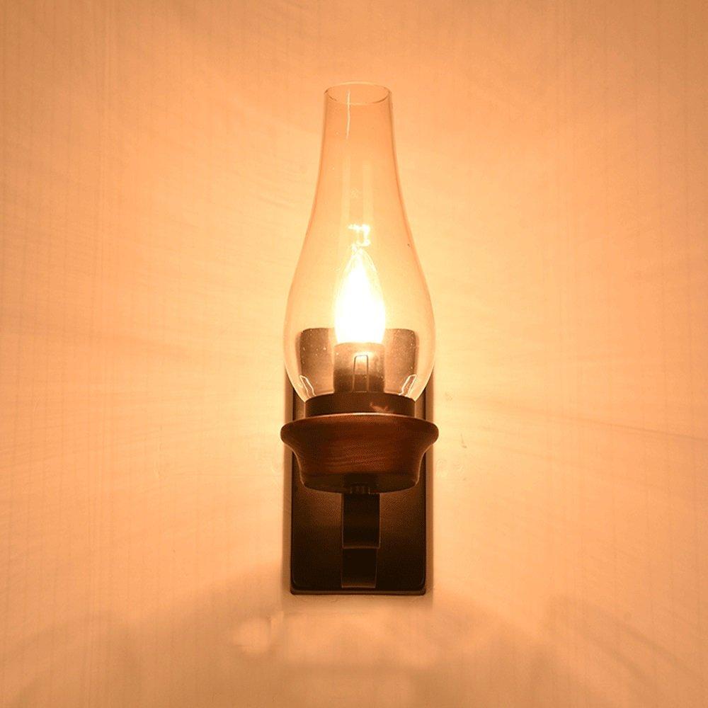 Europ/äischen Stil LED Single Head Wandleuchte Retro Wohnzimmer Schlafzimmer Nachttischlampe Hotel Restaurant Treppe Korridor Wandleuchte