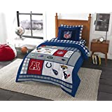 NFL Twin Bedding Football AFC vs NFC Comforter and Sheets