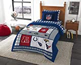 NFL Twin Bedding Set Football AFC vs NFC Comforter and Sheets