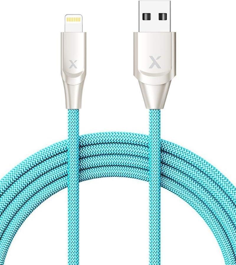 Xcentz iphone 充電ケーブル 2m ライトニングケーブル Apple MFi認証 急速充電