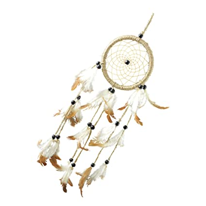 Imported Handmade Brown Dream Catcher Home Wall Hanging Decor