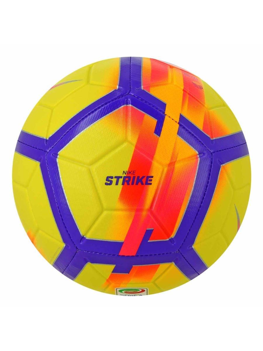 Nike Pallone Da Calcio Serie A 2017/18 Giallo SC3152-707: Amazon ...