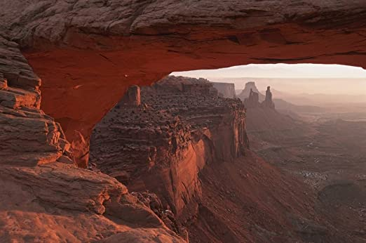"Mesa Arch Canyonlands National Park Landscape Poster 24/""x13/"""