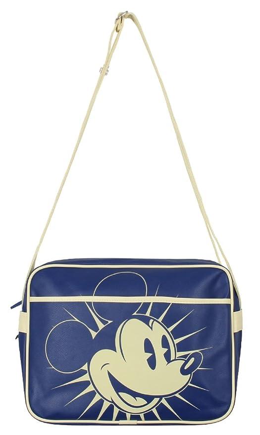 Mickey Mouse - bolso bandolera del ratón Mickey - cartera retro - bolsa con correa -