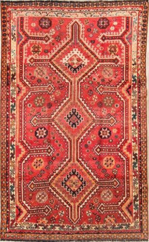 Rug Source Pre-1900 Lori Shiraz Handmade Antique Persian Area Rug 5x8 For Living Room (7' 10'' x 4' 10'')
