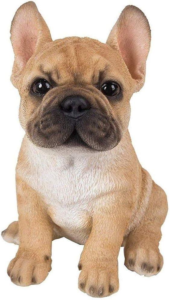 Figura de cachorro de bulldog francés, Vivid Arts Pet Pals