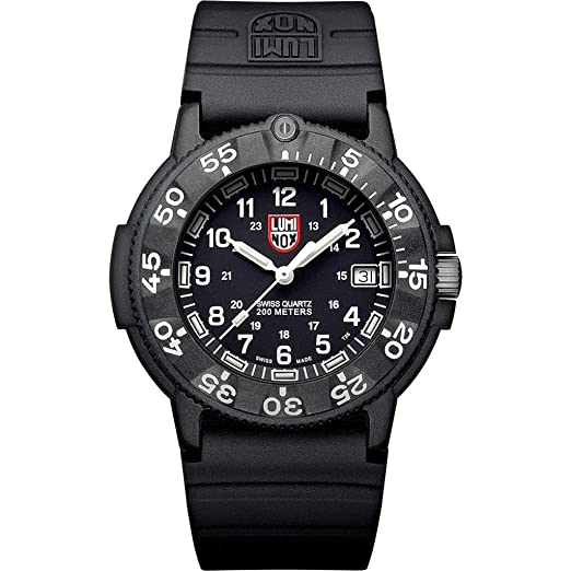 Luminox 3001 - Reloj automático (43 mm), Color Azul Marino: Amazon.es: Relojes