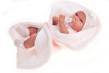 Muñecas Antonio Juan - Muñeca Baby Toneta, Color Rosa (6010)