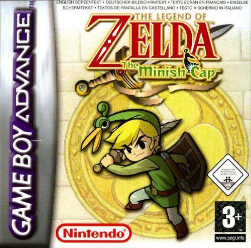 Legend Zelda Minish Game Boy Advance