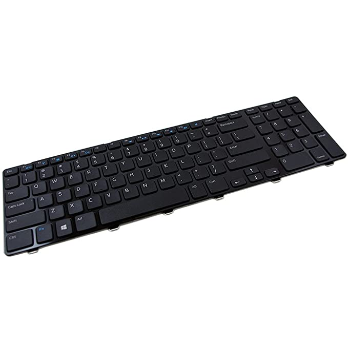 Amazon.com: Dell CBK New Inspiron 17-3721 17-3737 17R-5737 17R-5721 M731R 5735 non-Backlit Keyboard with Frame US V119725BS1 0JJNFF PK130T33A00: Computers & ...