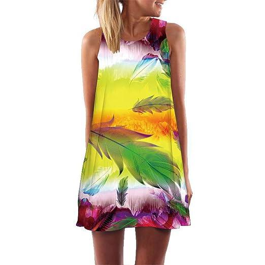 Amazon.com: Sagton Summer Dresses for Women Plus Size Casual ...