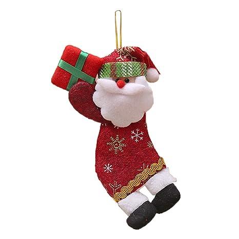 Weihnachtsbaum Holz hängenden Stern Elch Karte Home Party Weihnachtsbaum Dekor