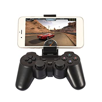 Duoying Gamepad inalámbrico de Bluetooth del regulador PS3 con la Batería Recargable del Sensor de Movimiento
