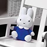 """My First Miffy Plush Toy in Blue Dress 