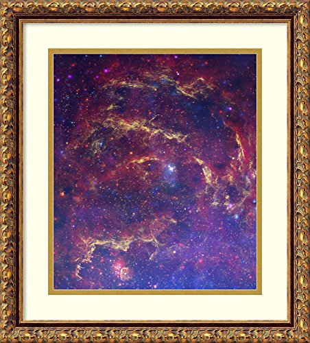 Chandra Art Art (Framed Wall Art Print | Home Wall Decor Art Prints | The Central Region of Our Milky Way Galaxy. Hubble, Spitzer and Chandra. | Traditional Decor Framed Art Print | Home Wall Decor Art Prints | The c)