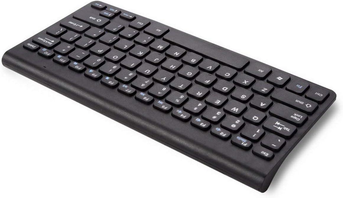 Couleur: Noir K119 Kit combin/é Mini Clavier et Souris sans Fil Ultra-Mince et Durable pour PC de Bureau Loptop Classic Office Set