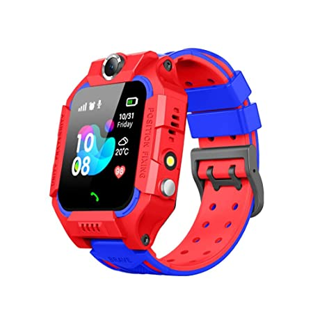 su-xuri Niños Tracker Smart Watch Phone IP67 Impermeable SOS ...