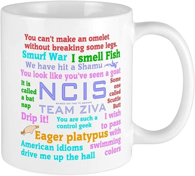 Printed Ceramic Coffee NCIS Abby Quotes Tea Cup Gift 11 ounce Mug
