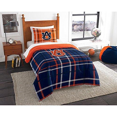 (Northwest COL 835 Sham NOR-1COL835000022BBB 64 x 86 Auburn Tigers NCAA Twin Comforter Set, Soft &)