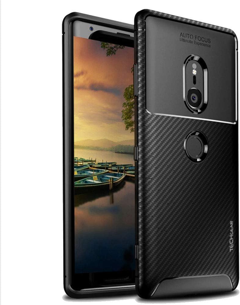TECHGEAR Funda Compatible con Sony Xperia XZ3: Amazon.es: Electrónica