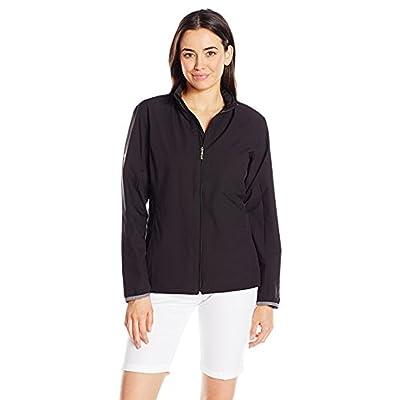 .com : Callaway Women's Long Sleeve Opti-Repel Full-Zip Wind Jacket : Clothing