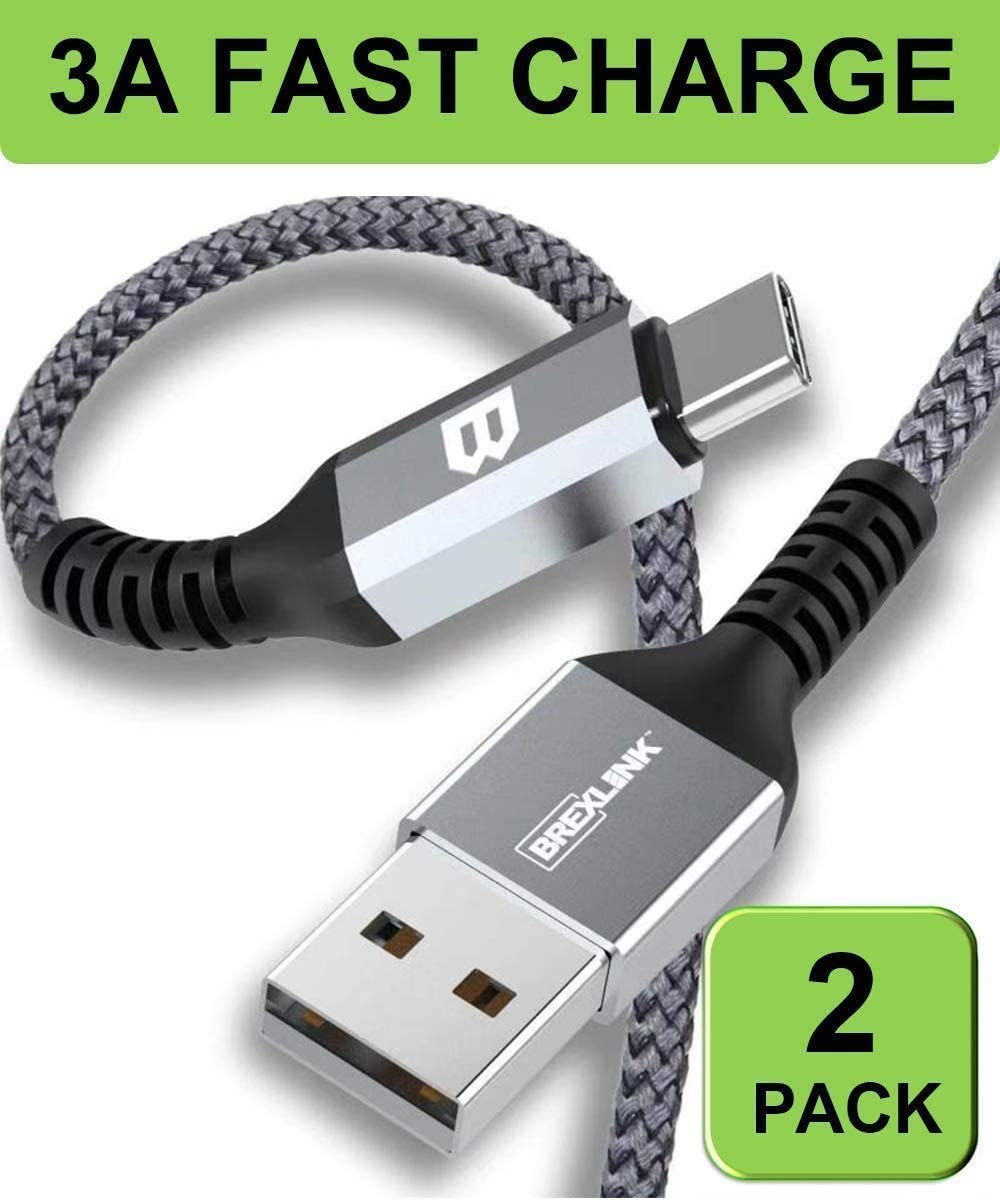 charger cable long fast charge 2.0 type-c 1.0 reversible connector