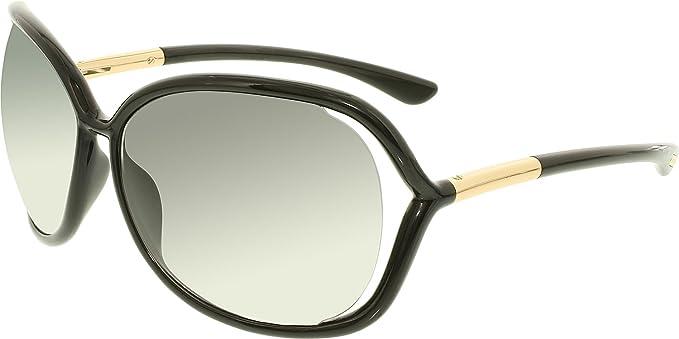 e7da3ea915 Amazon.com  Tom Ford Butterfly Sunglasses TF76 Raquel 199 Black Gold ...