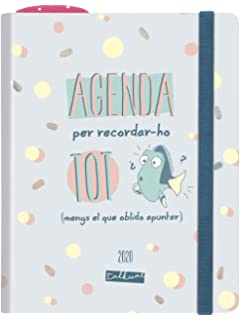 Finocam - Agenda 2020 1 día página Mínimal Design Iris ...