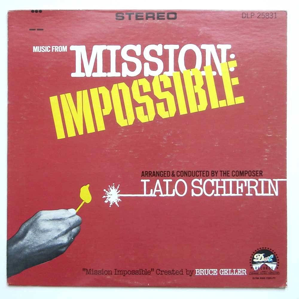 MISIÓN: IMPOSIBLE (TV ORIGINAL SOUNDTRACK LP, 1967)
