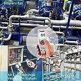 Manometer, RISEPRO Digital Air Pressure Meter and